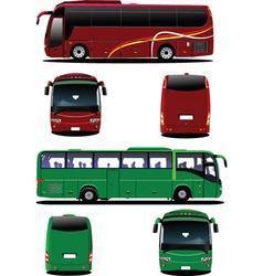 Public bus vector