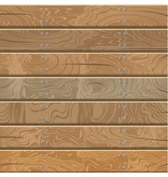 Wooden walls and floor vector image vector image