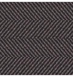 Wool herringbone fabric vector
