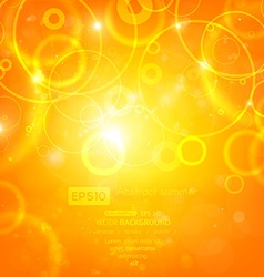 Bright backdrop with circles vector