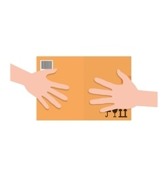 Package delivery icon image vector