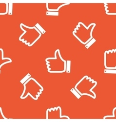 Orange like pattern vector image