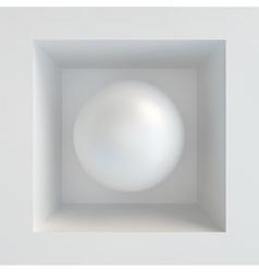 Sphere 3D vector image vector image