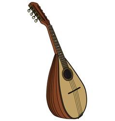 Classic portugal mandolin vector image