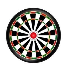 Dart board game vector