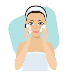 skin care - soap vector image