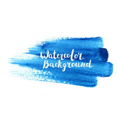 watercolor brush stroke vector image vector image