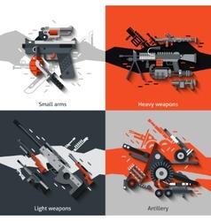 Weapon Design Concept vector image