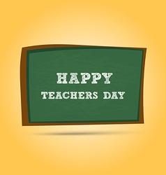 Happy teachers day greeting card teachers day vector