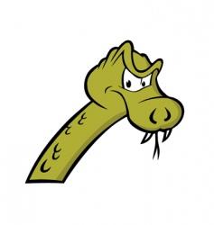 serpent vector image