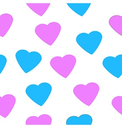 Love heart seamless pattern vector