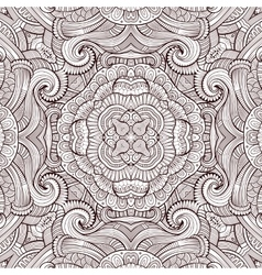 Abstract decorative ethnic seamless pattern vector