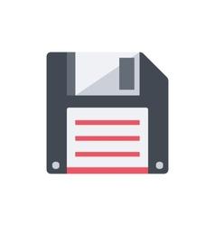 Floppy disk save data symbol vector