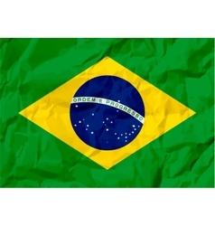 Brazil Flag vector image