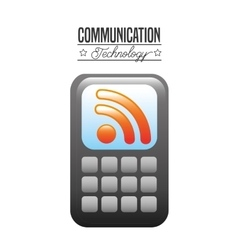 Communication technology design vector