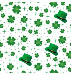clover background vector image vector image