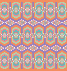 Color geometric pattern background vector