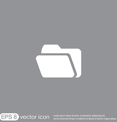 folder for documents vector image