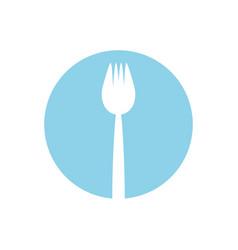 Fork utensil picnic image vector