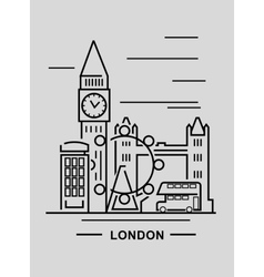 Black london vector