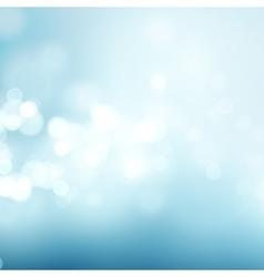 Abstract blue circular bokeh background vector