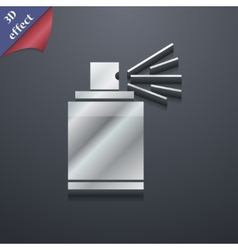 Aerosol paint icon symbol 3d style trendy modern vector