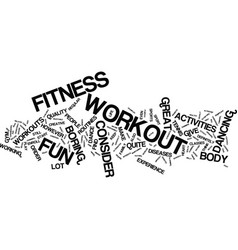 Fitness workout for your financial muscles text vector