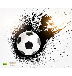 Football Design vector image vector image