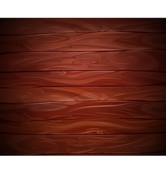 Realistic Mahogany wooden background vector image vector image