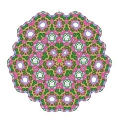 Mandala lace ornament vector image