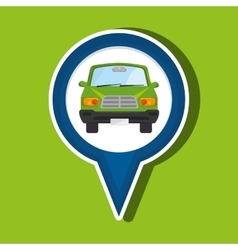 Car location design vector