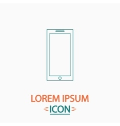Smartphone computer symbol vector