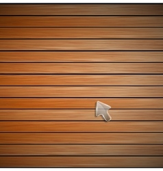 Wood plank texture vector image
