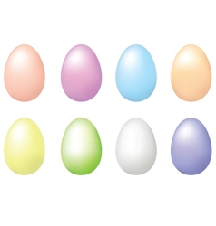 Eggs for easter vector