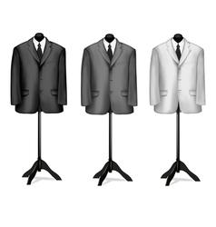 mannequin suites vector image