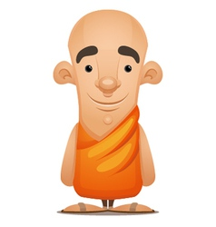 Zen monk vector