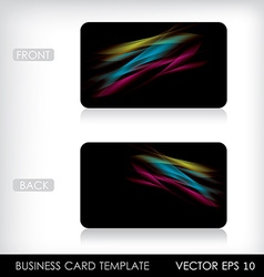 Business Card template EPS10 vector image vector image