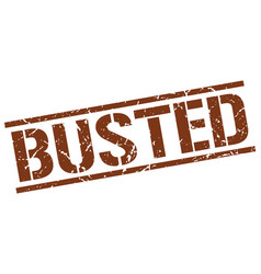 Busted stamp vector