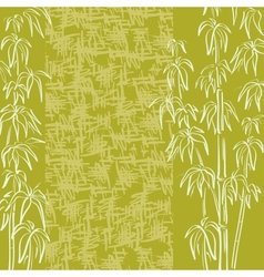 Exotic flora background vector image vector image
