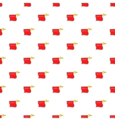 Fabric matador pattern cartoon style vector