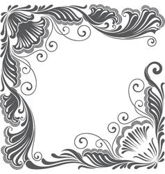 vintage decoration vector image vector image