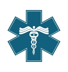 Medical symbol design vector