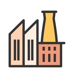 Factory II vector image