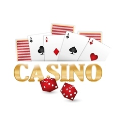 Casino gambling game vector
