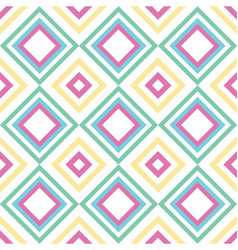 abstract squares seamless geometric pattern vector image