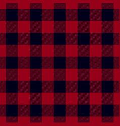 Dark red lumberjack seamless pattern vector