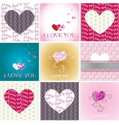 greeting-cards vector image
