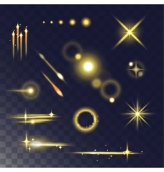 Light effect vector image