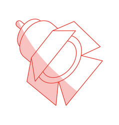 Light projector design vector