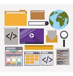 Seo design vector